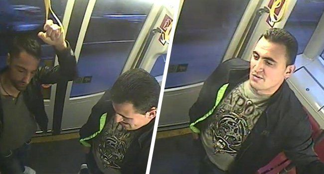 Am Montag veröffentlichte die Polizei diese Fahndungsbilder. Der Mann rechts soll der mutmaßliche Schütze sein.