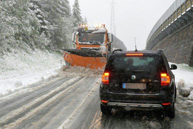 In Tirol lag die Schneefallgrenze teilweise unter 1.000 Meter.