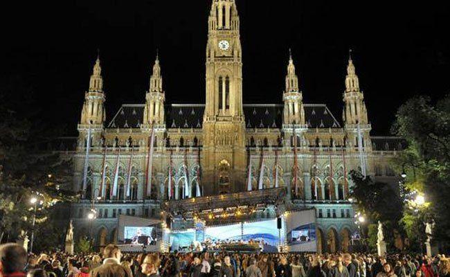 Es geht los: Der ESC-Rummel startet offiziell in Wien.
