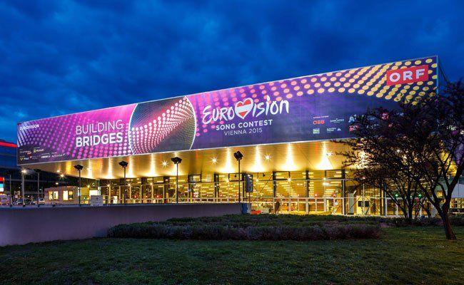 Der ESC wird in der Wiener Stadthalle ausgetragen.