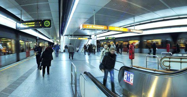 Für den gesuchten Mann klickten die Handschellen am Westbahnhof