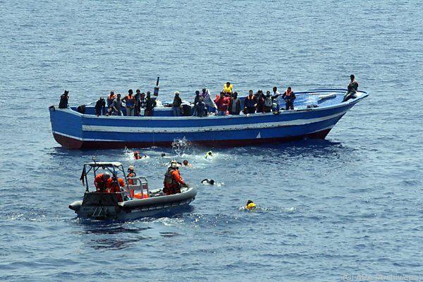 12 Prozent mehr Flüchtlinge in Italien eingetroffen