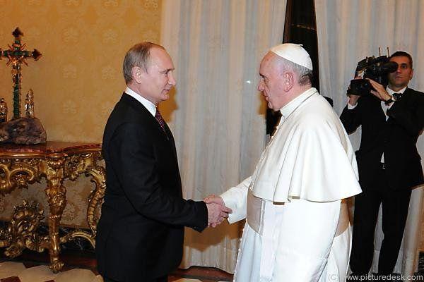 Putin hatte Franziskus bereits 2013 getroffen