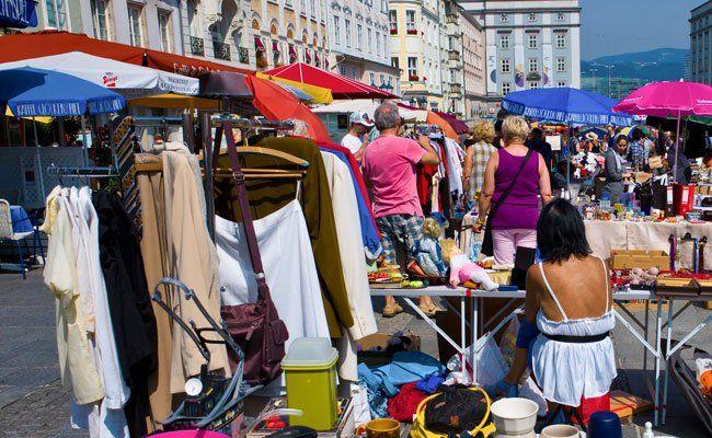 Am Samstag findet in Wien eine Kleidertausch-Party statt.