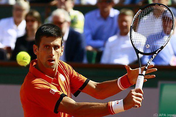 Djokovic ging als Sieger vom Platz