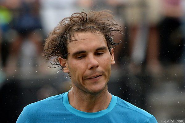Nadal hatte hart zu kämpfen