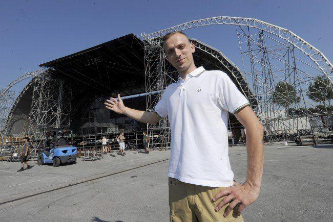 32. Donauinselfest - Projektleiter Waldner erfreut über Ansturm