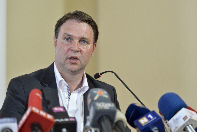 Traiskirchens Bürgermeister Andreas Babler ruft zur Demo vor dem Innenministerium auf.
