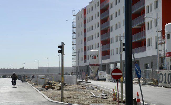 3.000 Menschen leben bereits in der Seestadt Aspern.