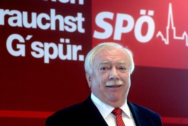 "Bürgermeister Michael Häupl: ""Die Zeltstädte müssen weg""."