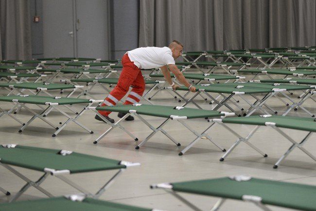 250 Asylwerber sollen in der Arena Nova Platz finden.