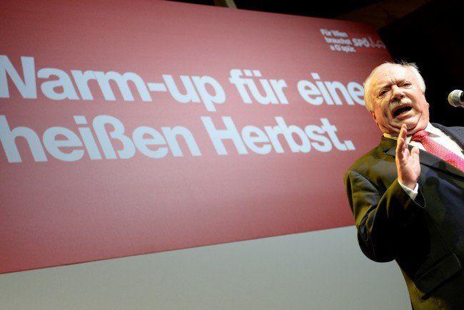 Bei der Mitgliederkonferenz würden SPÖ-Mitglieder auf den Wahlkampf eingeschworen.
