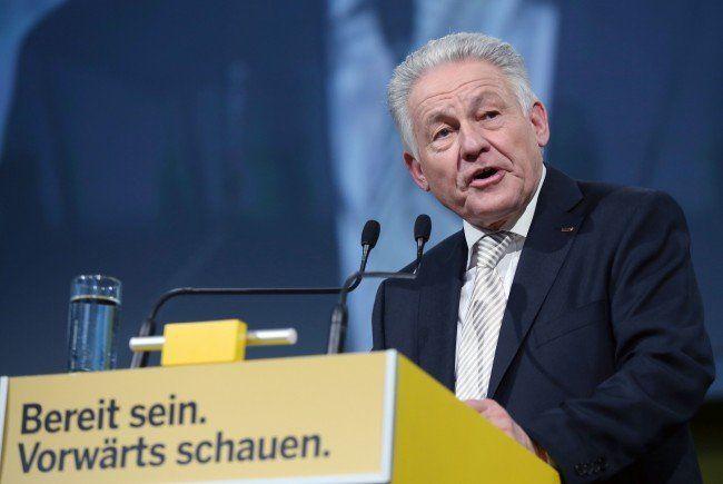 Josef Pühringer (ÖVP) ist amtierender Landeshauptmann in Oberösterreich.