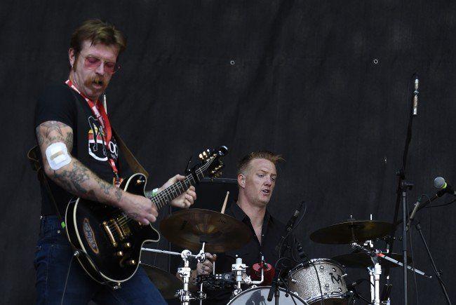 Josh Homme mit den Eagles of Death Metal am Nova Rock