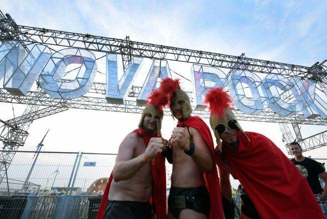 Das Nova Rock Festival startet wieder