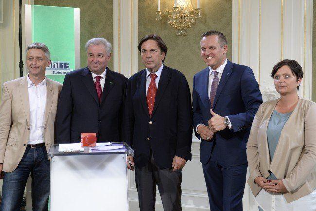 Die Briefwahlstimmen zur Steiermark-Wahl wurden ausgezählt.