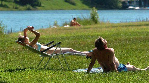 Badestellen entlang der Donau