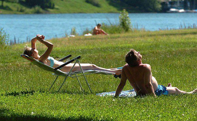 Abkühlung in der DOnau: Hier finden Sie Badestellen an der Neuen und Alten Donau in Wien.