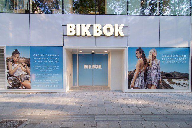 Eine neue Bik Bok-Filiale eröffnet auf der MaHü.
