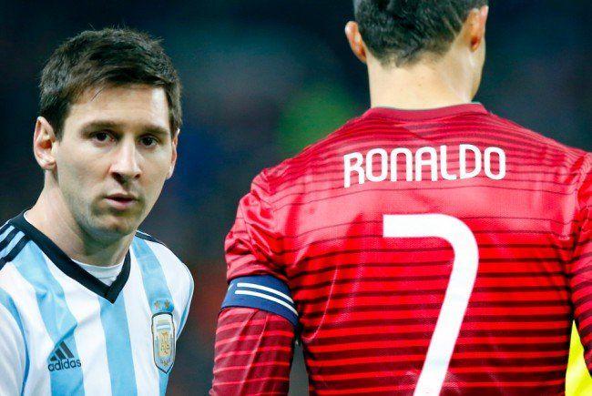 Messi und Ronaldo bringen es auf einen Gesamtwert von 240 Millionen Euro!