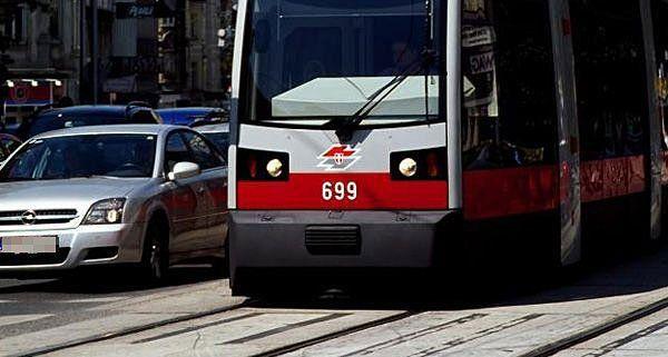 Am Mittwoch kam es zu einem Unfall mit einer Straßenbahn der Linie 46