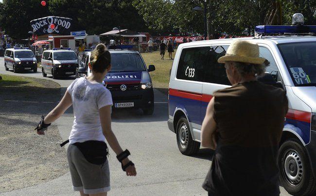 Die Polizei stellt zum Donauinselfest ein großes Aufgebot zur Sicherheit der Besucher