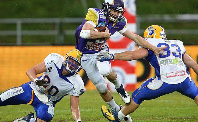 Beim Spiel der Vienna Vikings gegen die Graz Giants