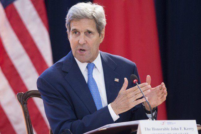 Kerry reist am Freitag zu Iran-Verhandlungen nach Wien