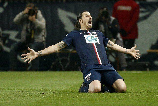 Zlatan Ibrahimovic und Co. in Österreich: Testspiel gegen Wiener SPprtklub am 12. Juli 2015.