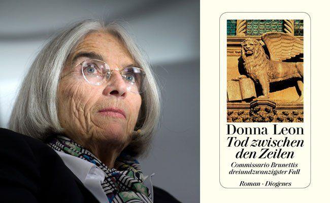 """""""Tod zwischen den Zeilen"""" heißt der neue Roman von Donna Leon"""