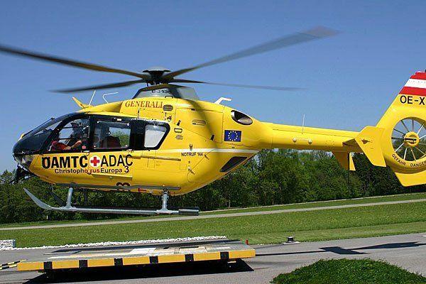 Ein Notarzthubschrauber waren bei Unfällen auf der A1 im Einsatz