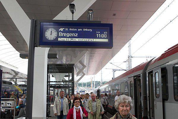 Wenn es zu Verspätungen kommt, haben Bahnreisende Anspruch auf Entschädigung