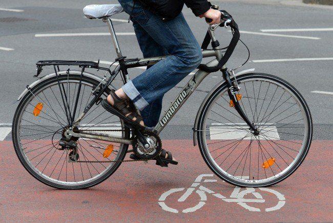 Der Radfahrer missachtete den Vorrang des Pkws.