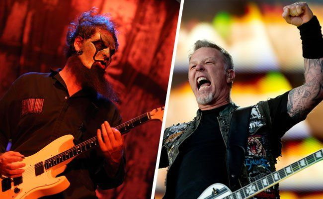 Battle of the bands: Slipknot warten am Nova Rock, Metallica beim Rock in Vienna