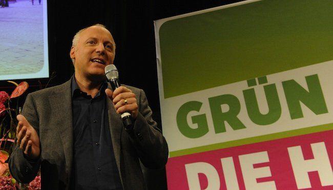 Der Bundesgeschäftsführer der Grünen, Stefan Wallner
