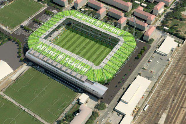 So soll das Allianz Stadion bald aussehen.