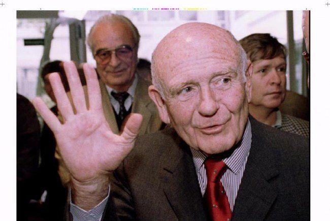 Gerd Bacher im Jahr 1994