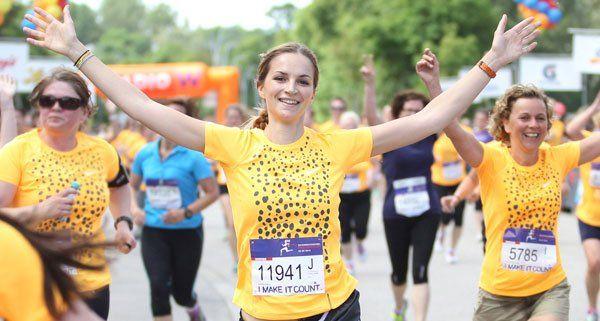 33.139 Teilnehmerinnen beim Österreichischen Frauenlauf