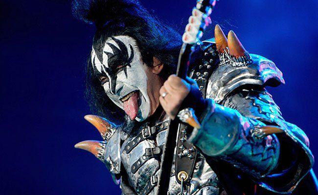 Auch die Glam-Rocker von Kiss sind beim ersten RiV mit dabei.