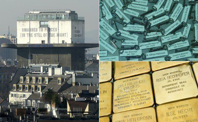 Im Wiener Stadtbild erinnert vieles an den Zweiten Weltkrieg.