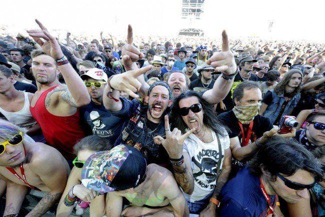 Alle Bilder vom Nova Rock Festival auf VIENNA.at