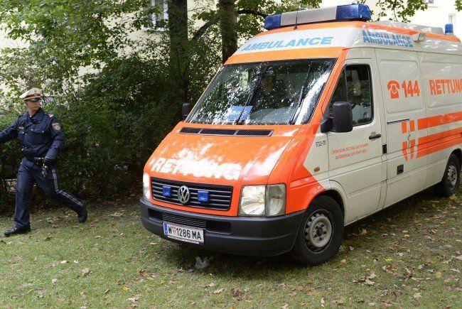 Der an der Hand verletzte Mann wurde im Spital behandelt.