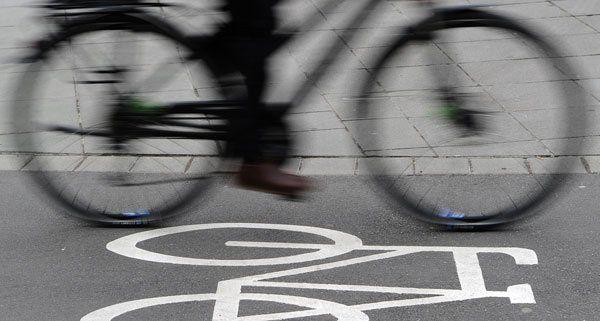 Ein Mädchen wurde bei einem Fahrradunfall in Wien-Leopoldstadt verletzt.