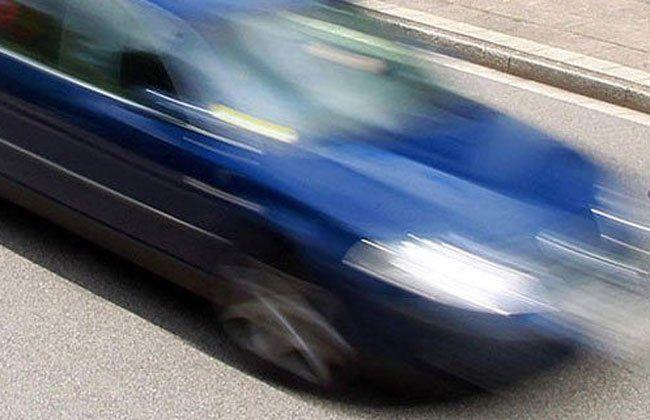 Der Fahrer hatte es auf der A5 zu eilig.
