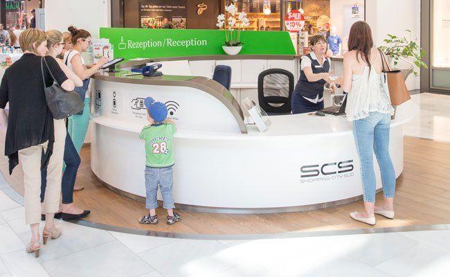 Die SCS ist ein 4-Sterne-Einkaufszentrum.