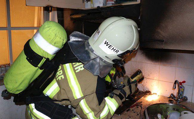 Küchenbrand in Vösendorf