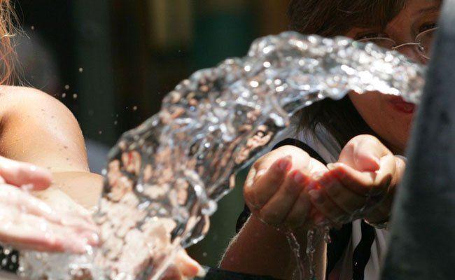 900 Trinkbrunnen sorgen während Hitzewelle in Wien für Abkühlung