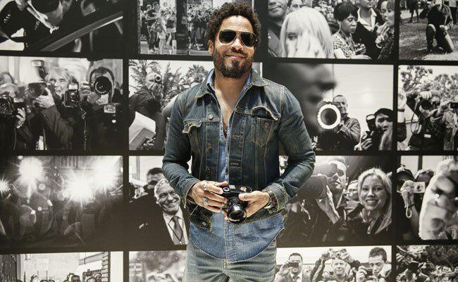 """Am 10. August wird Lenny Kravitz' Foto-Ausstellung """"FLASH!"""" in Wien eröffnet."""