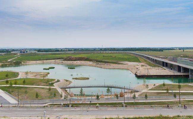 Am 3. Juli werden zwei Parks und der See eröffnet.