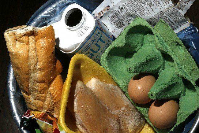 30 Prozent der Nahrungsmittel landen im Müll!